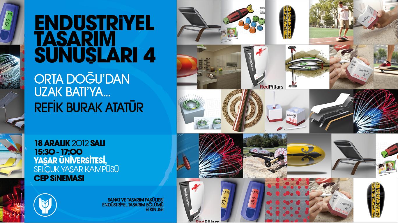 Endüstriyel Tasarım Sunuşları - 4
