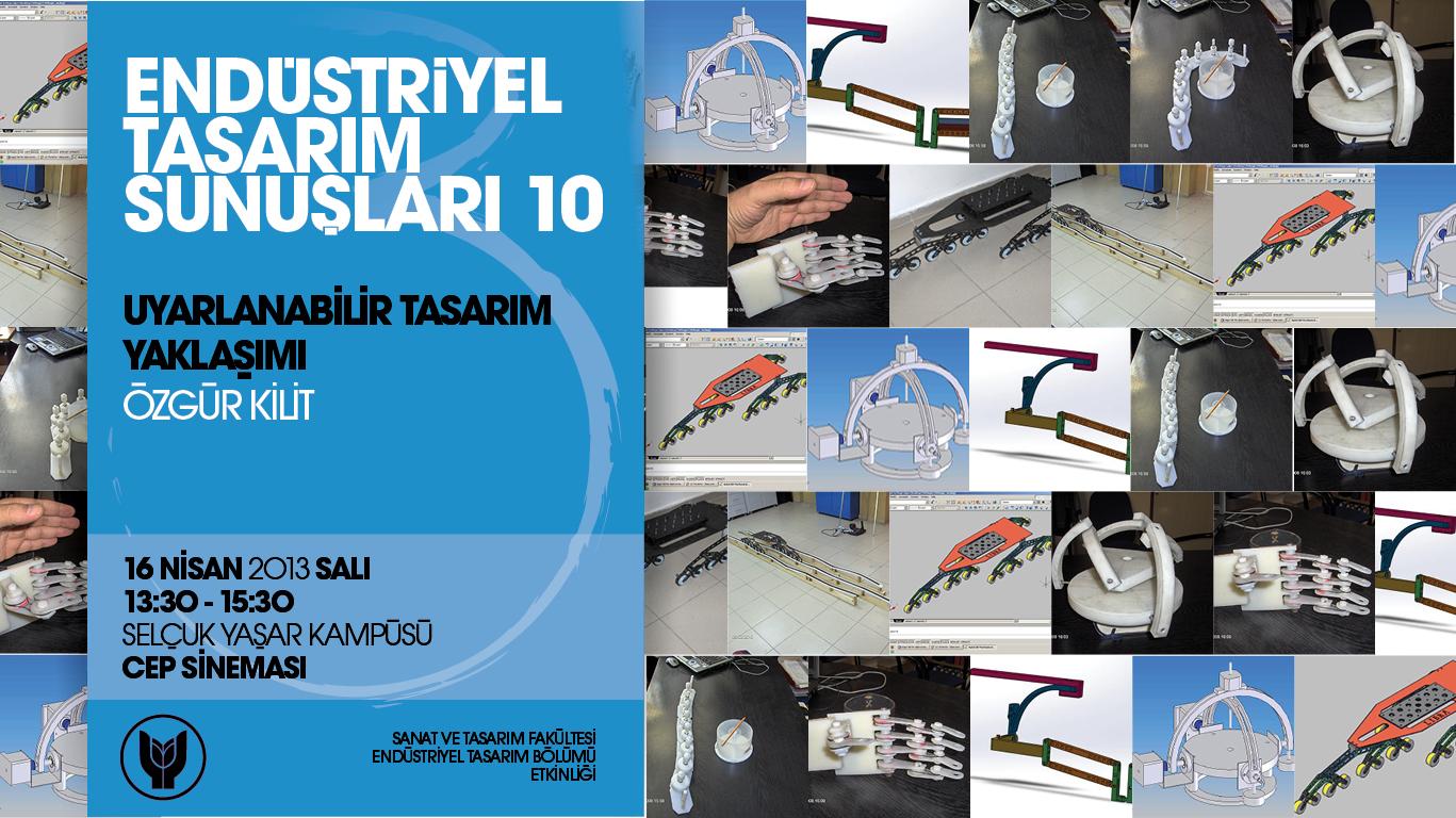 Endüstriyel Tasarım Sunuşları - 10